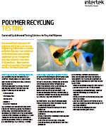 Polymer Recycling Testing