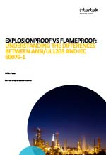 Explosion Proof Flame Proof