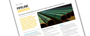 Pipe and Pipeline Inspection Services