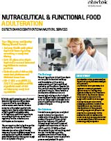 Nutraceutical and Functional Food FS