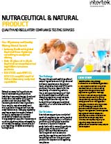 Nutraceutical and Natural Product Testing FS
