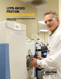 LCMS-Based Protein Analysis Services