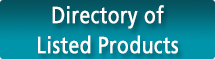 Warnock-Hersey Directory of Listed Products