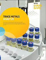 Trace metals analysis brochure