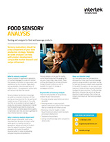 Food Sensory Analysis Factsheet